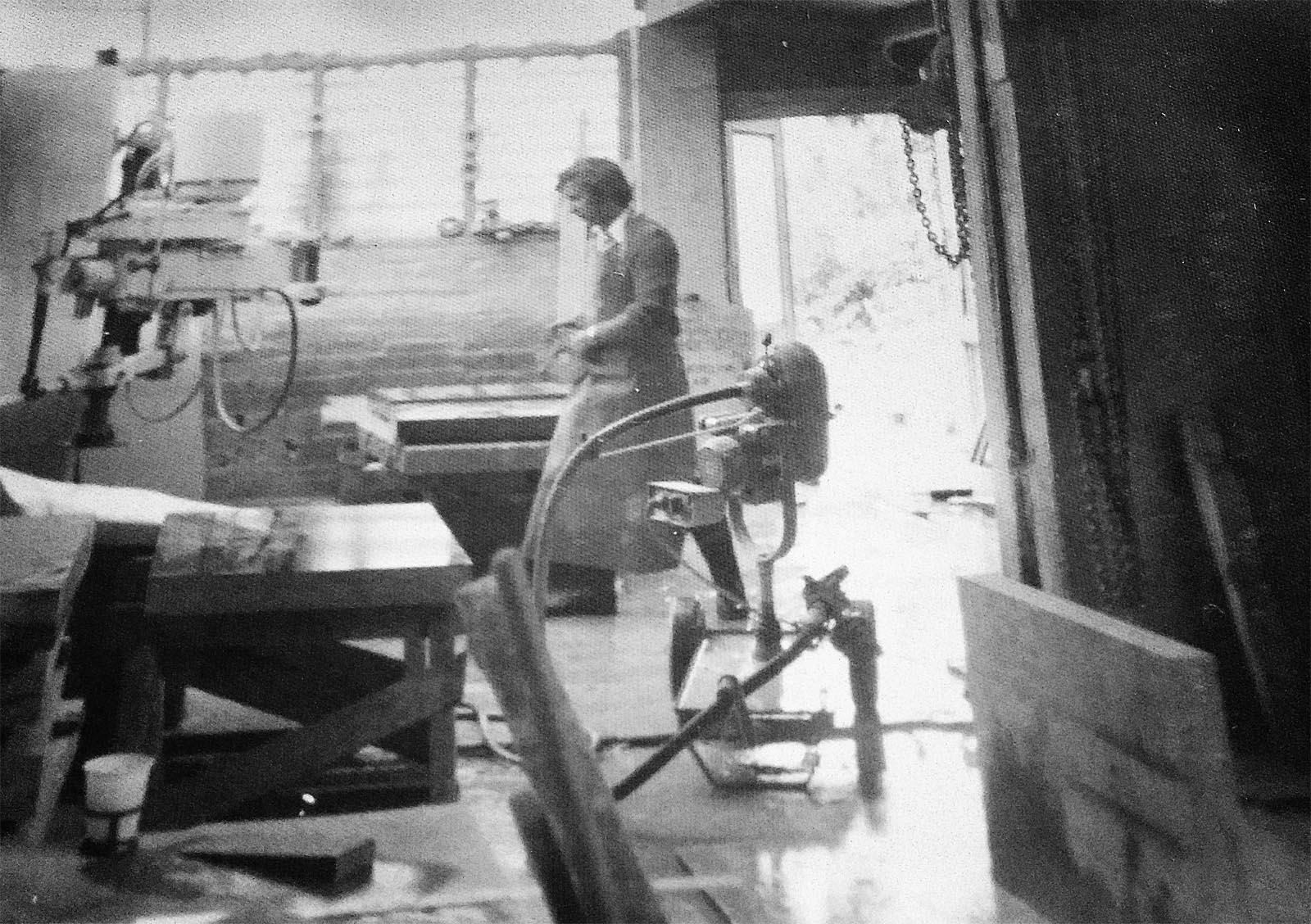 Guiseppe Grillo Natuursteen geschiedenis fabriek steenhouwer ambacht