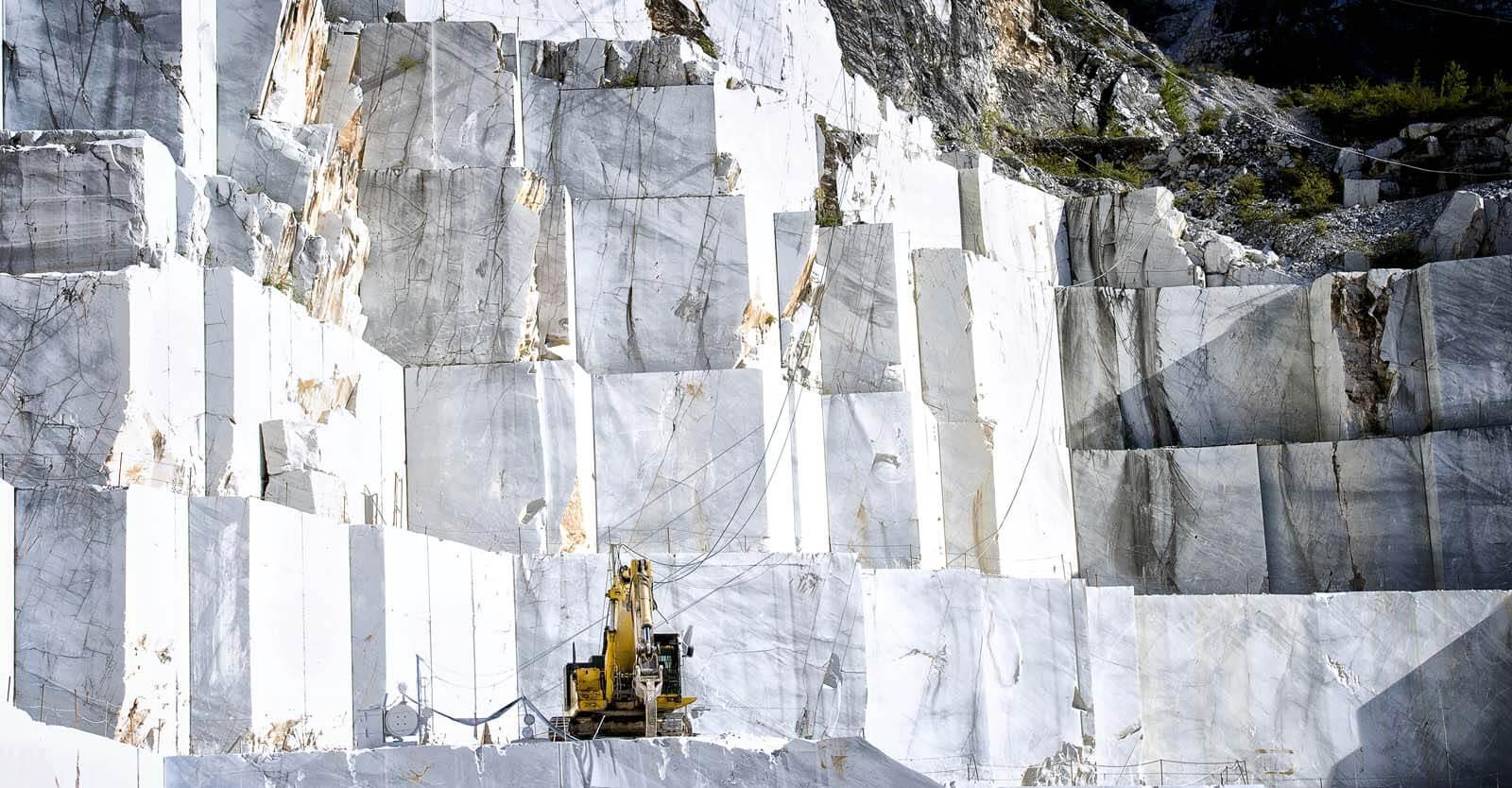 Marmer steengroeve Grillo Natuursteen