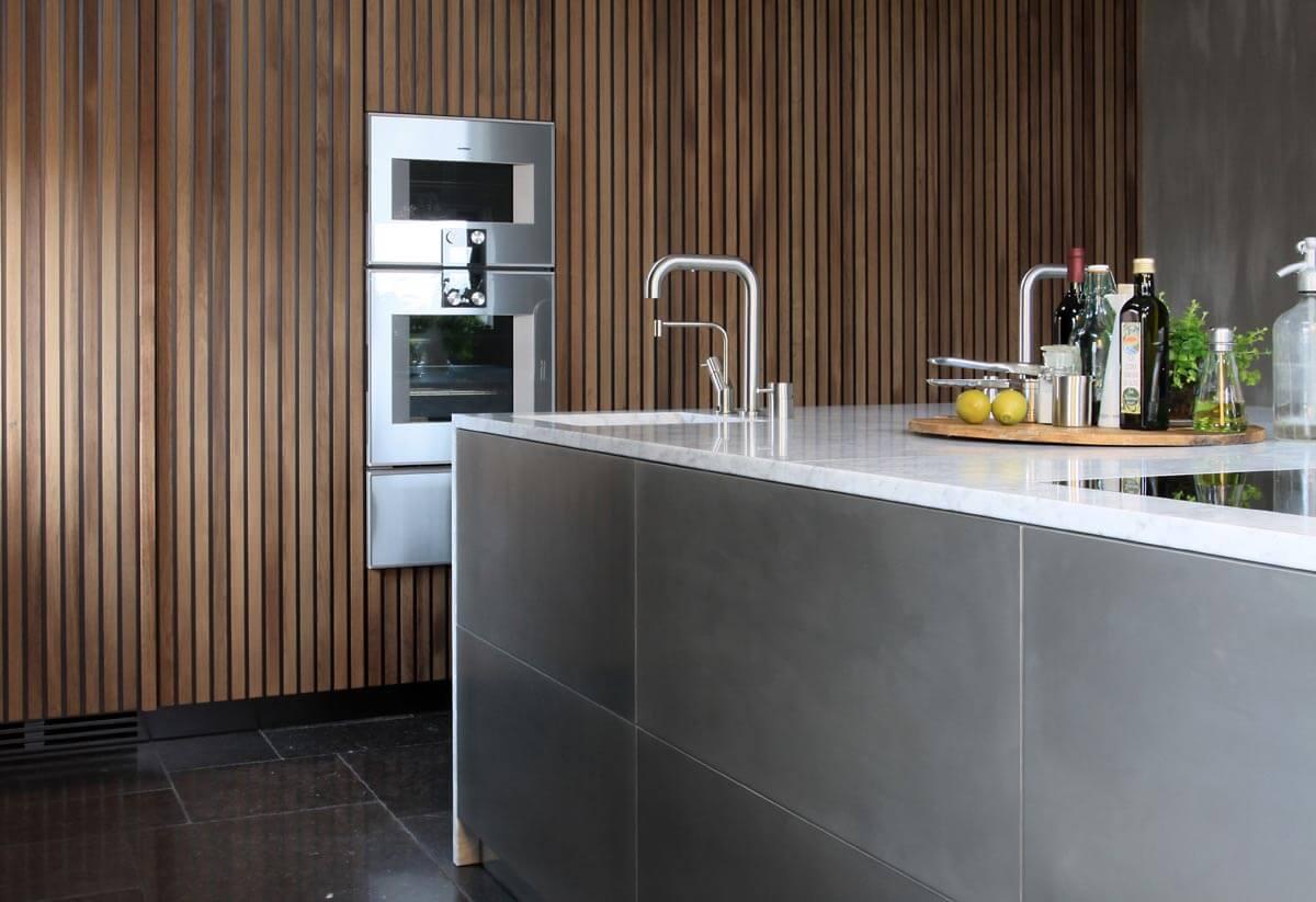 Natuursteen keukenblad op maat keuken