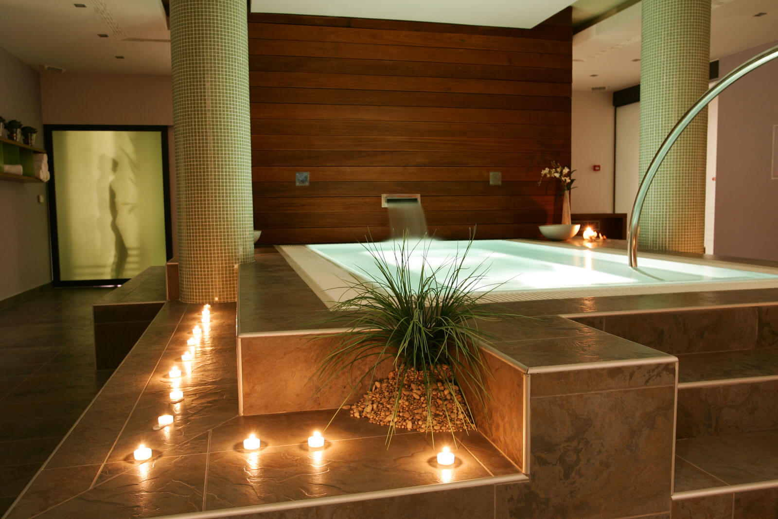 Luxe spa en wellness Grillo Natuursteen