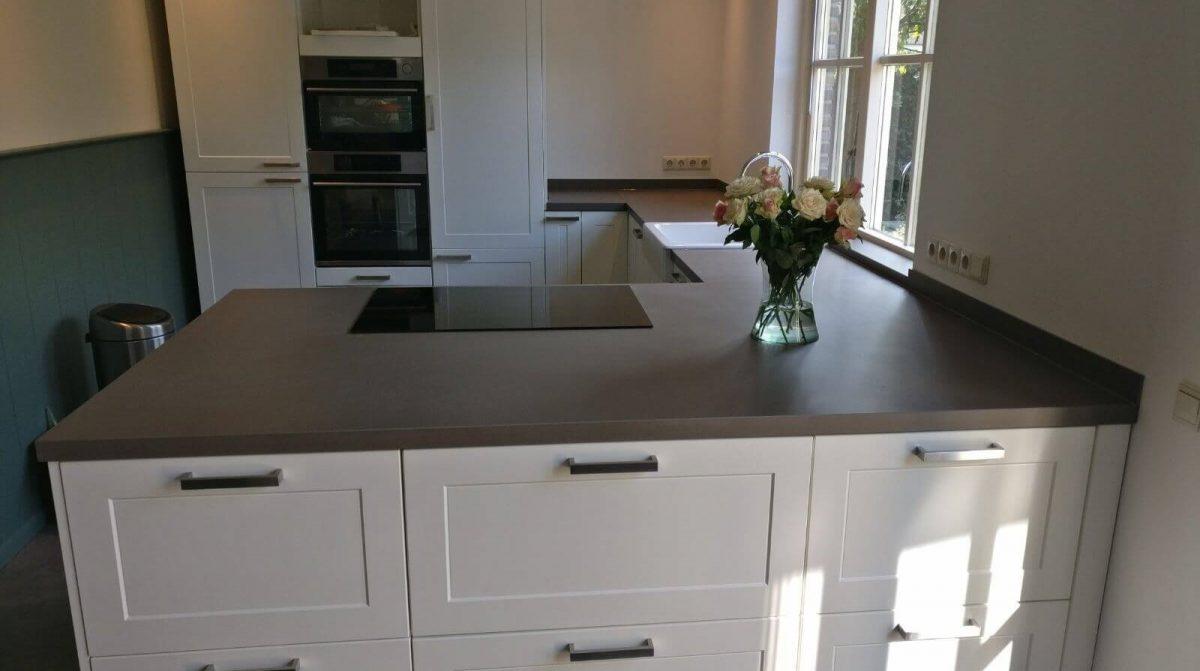 Stenen werkblad ikea keuken foto s keukens modern inrichten