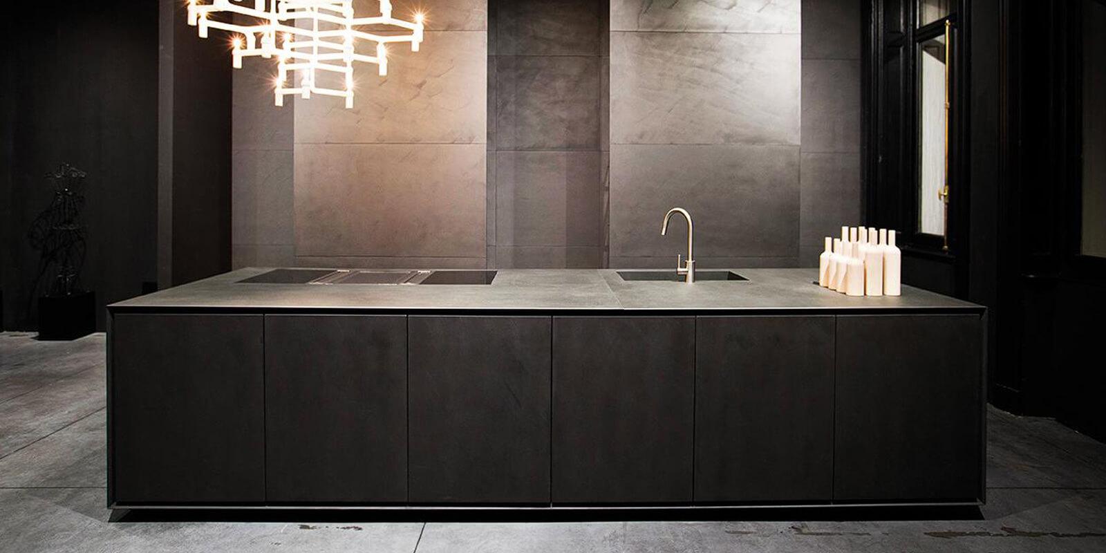Grillo Natuursteen Huissen Laminam Monotune keuken