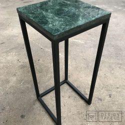 Design Tafels sidetable San Remo Verde Alpi marmer